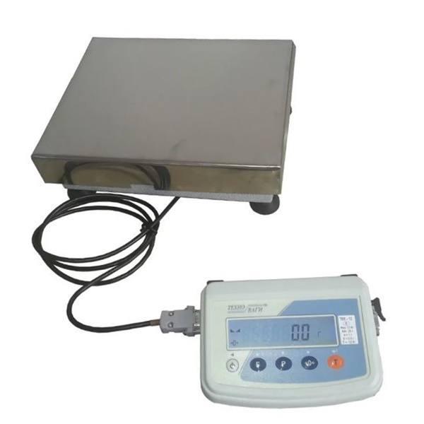 Весы товарные Техноваги ТВ1-12ep (60 кг - 600x700)