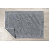 Полотенце для ног Iris Home - Бордюр orta gri 50*70