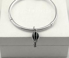 Шарм бусина серебро подвеска Воздушный шар для браслета Pandora Пандора серебряная