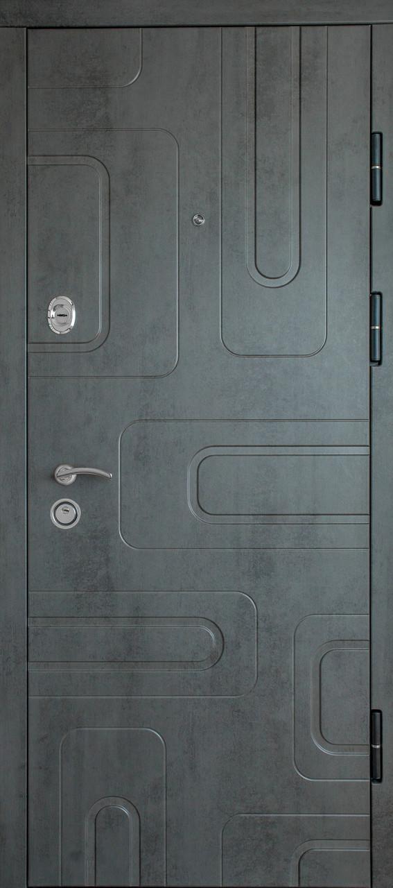 Дверь входная «Министерство дверей»— П-3К-52. Бетон серый