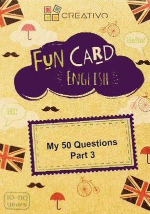 Fun Card English: My 50 Questions Part 3, фото 2