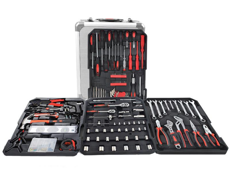 Набор инструментов ключей 187 елементов + молоток + ножницы Польша