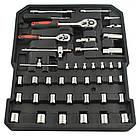 Набор инструментов ключей 187 елементов + молоток + ножницы Польша, фото 4