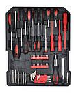 Набор инструментов ключей 187 елементов + молоток + ножницы Польша, фото 6