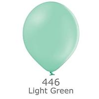 """Шар воздушный BELBAL пастель 446 Светло-зелёный  Light green 12"""" (30см)"""