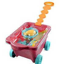 Набор для игры с песком и водой Battat - ТЕЛЕЖКА МАНГО 11 предметов BX1594Z, фото 3