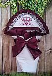 Нарядный конверт, одеяло для новорожденного весна/лето, фото 8