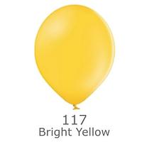 """Шар воздушный BELBAL пастель 117 Светло-жёлтый Bright yellow 12"""" (30см)"""
