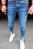 Мужские джинсы светло-синие Slim Fit