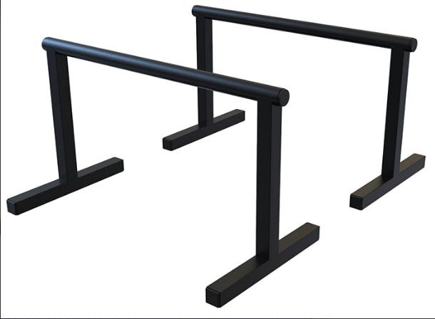 Напольный брусья, параллетсы SAB-Building упоры для отжиманий 35 см черные