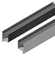 Профиль створки 69 мм. + швеллер15*40*15,для ставень с поворотными ламелями,пара правый и левый. м-, фото 1