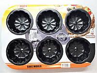 Форма для выпечки кексов антипригарное покрытие А-плюс