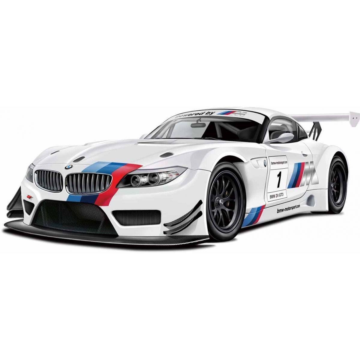 Автомодель Автопром BMW Z4 GT3 (1:24) Белый (68260A  - белый)