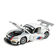 Автомодель Автопром BMW Z4 GT3 (1:24) Белый (68260A  - белый), фото 2