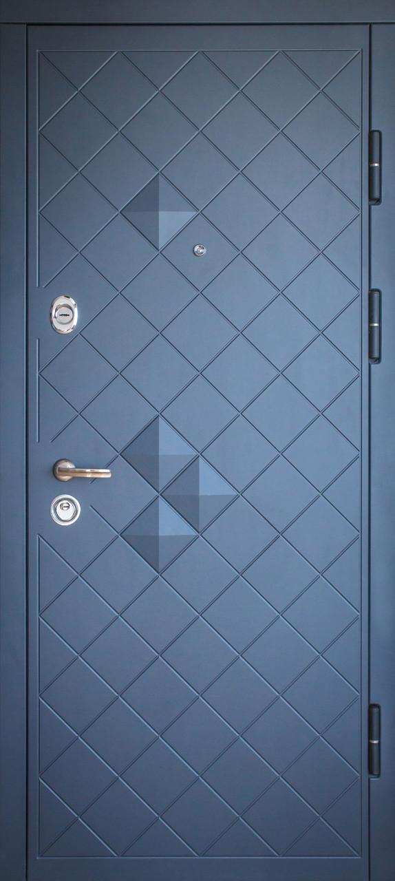 Дверь входная «Министерство дверей»— П-3К-112.V Графит декор 3DVinorit