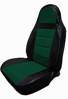 Чехлы на сиденья Фольксваген Крафтер (Volkswagen Crafter) 1+2 (универсальные, кожзам, пилот)