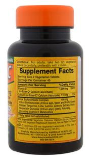 Вітамін С American Health Ester-C 500 mg 90 Tabs, фото 2