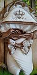 Нарядный конверт, одеяло для новорожденного весна/лето, фото 7
