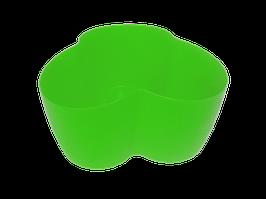 """Вазон """"Кактусник"""" на 3 растения (светло-зелёный)"""