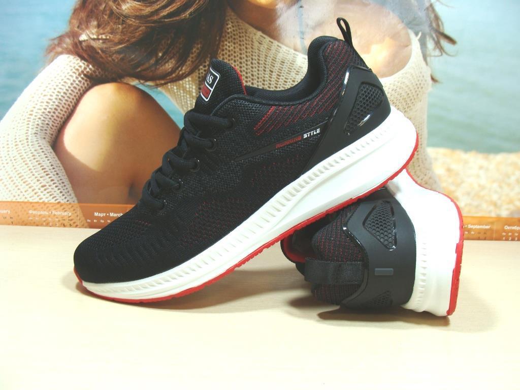 Мужские кроссовки BaaS Running - 3 черные 44 р.