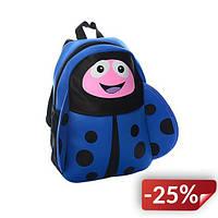 Рюкзак детский Божья коровка Blue (RBK001)