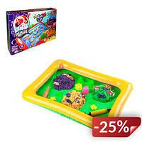 Настольная игра Danko Toys 2 в 1 Клевая рыбалка и Кинетический песок KidSand (FDEYVHJ)