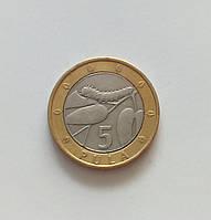 5 пул Ботсвана 2000 г., фото 1