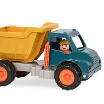 Игрушка серии Первые машинки - САМОСВАЛ с фигуркой водителя Battat Lite BT2510Z, фото 3