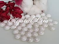 Напів-перли ss16 4мм термо кераміка Ivory 100шт, фото 1