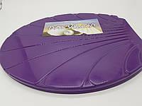 """Сиденье с крышкой для унитаза """"Ракушка"""" цвет (фиолетовый)"""