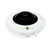 Купольная IP камера для внутренней установки GreenVision GV-076-IP-ME-DIS40-20  (360) POE, фото 1