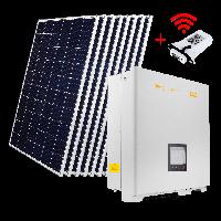 """Комплект СЭС """"Премиум"""" инвертор OMNIK 15kW + солнечные панели (WiFi)"""