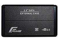 Frime FHE20.25U20 USB 2.0 Black Metal