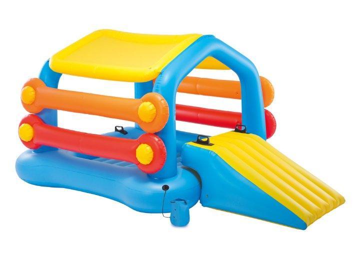 Надувной детский игровой центр - водная горка Intex 58294 «Остров»