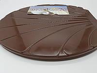 """Сиденье с крышкой для унитаза """"Ракушка"""" цвет (коричневый), фото 1"""