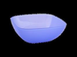Тарілка глибока 150*150*55мм. (фіоле. тощо)