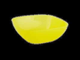 Тарілка глибока 150*150*55мм. (жовта тощо)