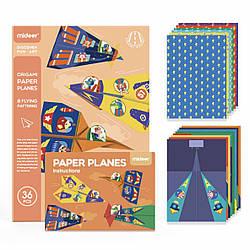 """Набор для оригами """"Бумажные самолётики"""" MiDeer Toys"""
