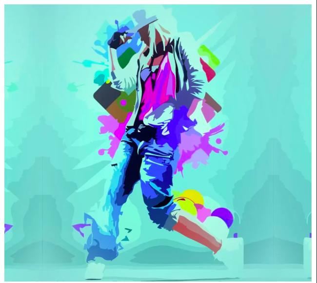 Картина по номерам Dance Girl
