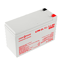 Аккумулятор гелевый LPM-GL 12V - 7.2 Ah