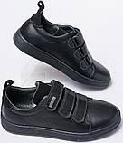 Кроссовки детские на липучках из натуральной кожи от производителя модель ДЖ28, фото 4
