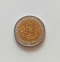 100 халалов Саудовская Аравия 1998 г., фото 1
