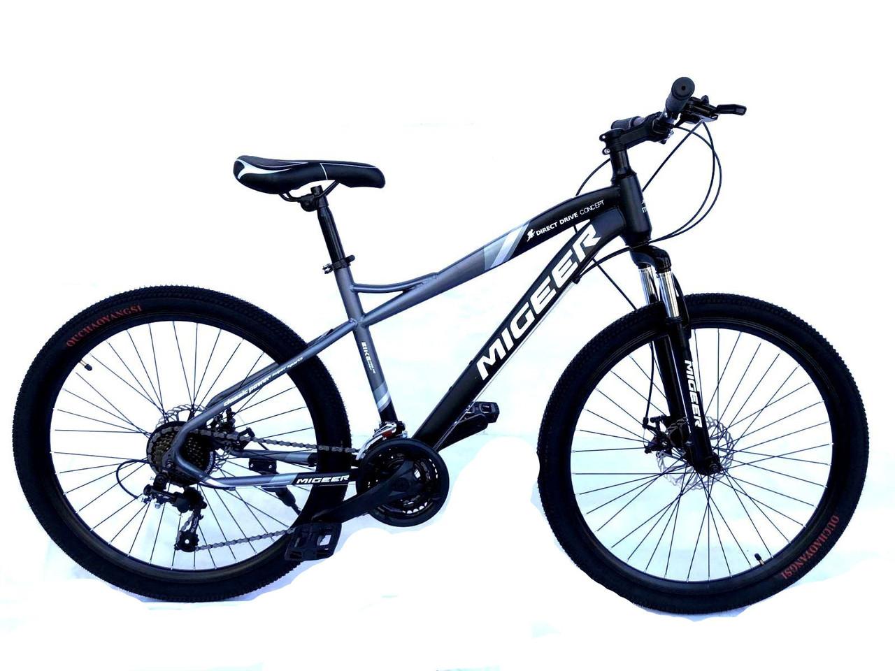 "Велосипед Unicorn - Migeer-Rise 26"" размер рамы 17"" Gray-Black"