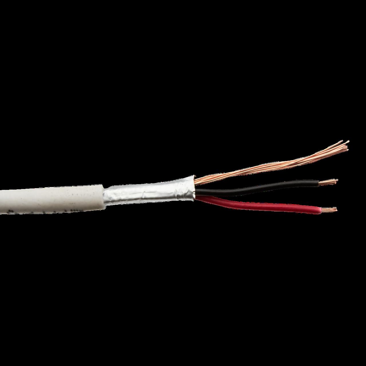 Сигнальный кабель Logicpower КСВПЭ CU 2x7/0.22 + 7/0.22 экранированный бухта 100м