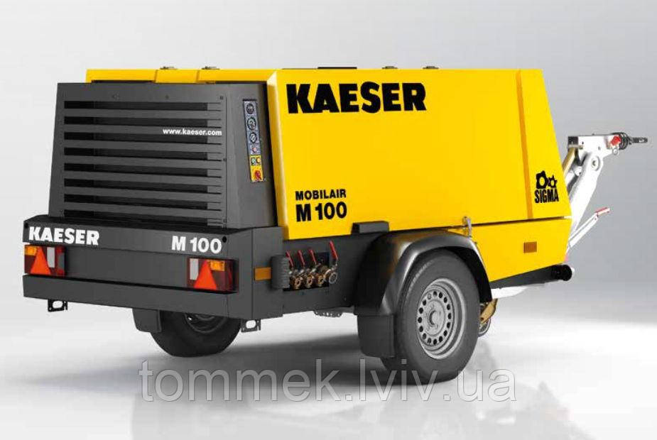 Пересувний компресор Kaeser Mobilar М 100