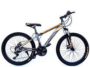 "Велосипед Unicorn - Tiger 24"" размер рамы 13"" Black-Red, фото 2"