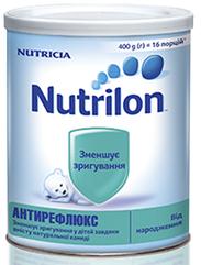 Суміш молочна Nutrilon Антирефлюкс, 400г