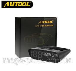 AUTOOL X100 Универсальный Авто HUD GPS Спидометр Head UP Digital. Автомобильный GPS Спидометр