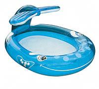 Надувний дитячий басейн Intex 57435 Кіт з фонтаном