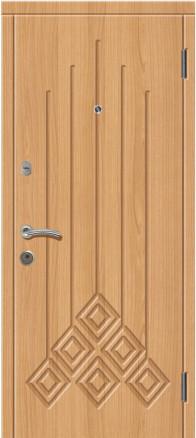 Входная металлическая дверь МДФ 16 vinorit/МДФ 16 vinorit